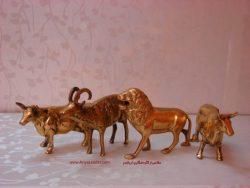 مجسمه برنجی حیوانات