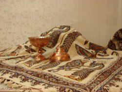 سفره قلمکار اصفهان سایز 120*120