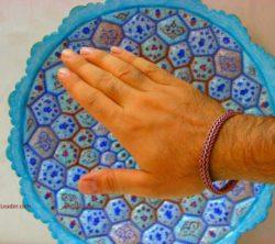 دستبند مردانه مسی